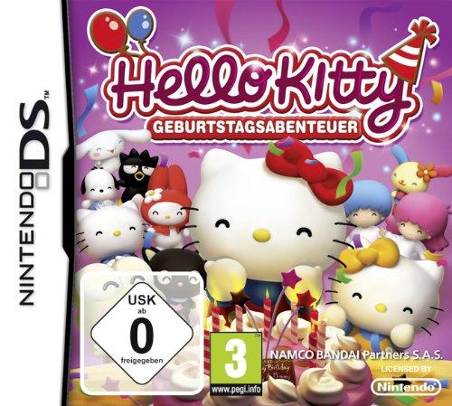 Namco Bandai Games  Hello Kitty: Birthday Adventures, DS