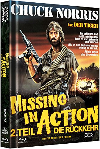 Missing in Action 2 - uncut (Blu-Ray+DVD) auf 333 limitiertes Mediabook Cover B [Alemania] [Blu-ray]