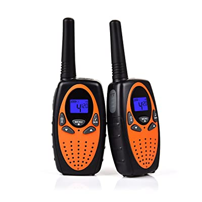 Swiftion Handheld Kids Walkie Talkies Rechargea...