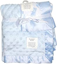 Carter's Child of Mine Soft Cuddly Blue 2 Piece Aodrable Baby Blanket Set