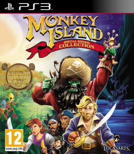 Monkey Island - Special Edition Collection (Sony PS3) [Import UK]
