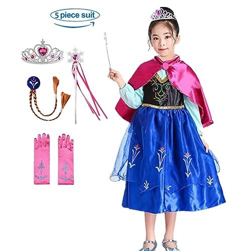 8910d79a5a7e9 Domiray Inspired Frozen Anna Princess Dress