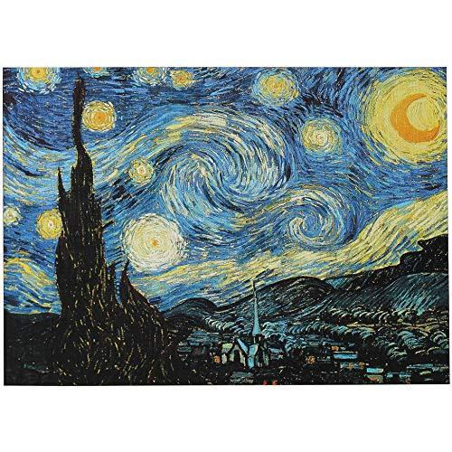 Rompecabezas De 1000 Piezas para Adultos Rompecabezas para Niños Juego Intelectual Aprendizaje Educación Juguetes De Descompresión - Noche Estrellada De Vincent Van Gogh