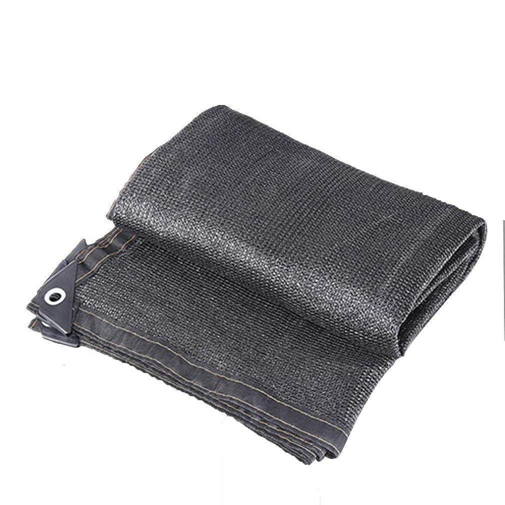 マイルストーン軽蔑するバターSHIJINHAO オーニングシェード遮光ネット アンチUV シェア85% パティオ フラワーズ 保湿 引き裂き抵抗 ポリエステル、16サイズ (Color : Black, Size : 6x15m)