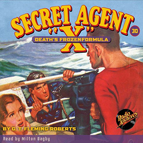 "Secret Agent ""X"" #30 audiobook cover art"