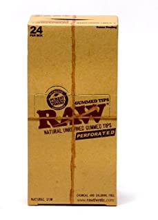 RAW Perforated Gummed Tips (3 Boxes - 24 Units per Box) - MJ-1459