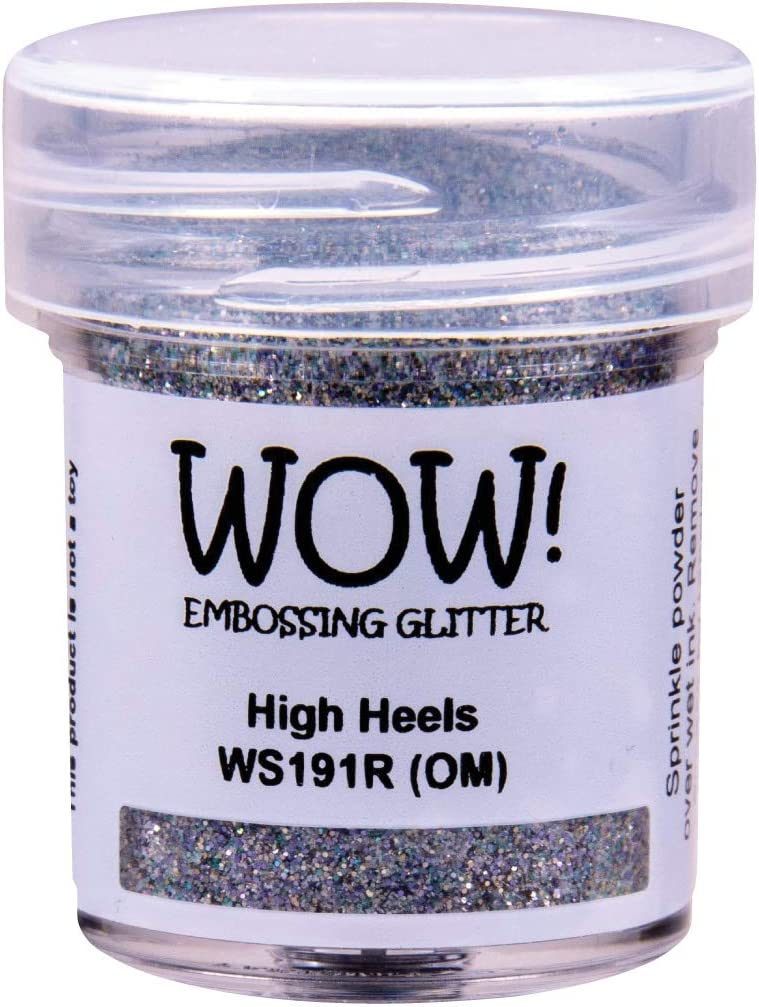 Charlotte Mall High material Wow Embossing Glitter 15ml-High Heels