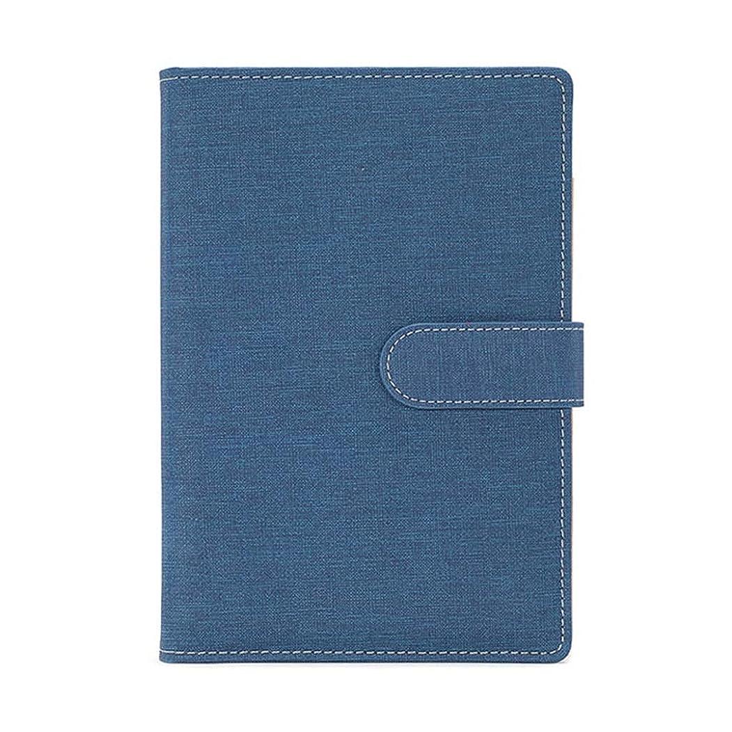 足音支援する付与ポータブルビジネスノートブック事業スケジュール本計画効率マニュアル管理ノートブックオフィスノートブック (Color : Blue)