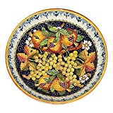 CERAMICHE D'ARTE PARRINI - Italian Ceramic Art Pottery Bowl For Fruit,Salad, Pasta Hand Painted Made in ITALY Tuscan
