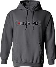 RIVEBELLA New Novelty Live PD Mens Hoodie Hooded Sweatshirt