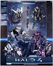 Halo 4 McFarlane Toys Series 1 Exclusive Action Figure 4-Pack Collector Box Set 2 [Master Chief, Spartan Soldier, Watcher & Crawler]