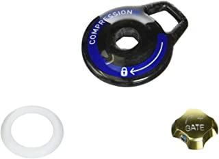 RockShox MoCo-BlackBox knob kit, 2009+ Reba,SID (carbon)