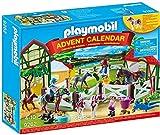 PLAYMOBIL Calendario de Adviento Granja de Caballos, A partir de 4 años, Multicolor (9262)