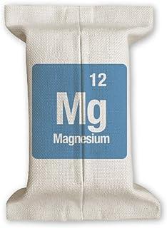 DIYthinker MG de magnesio Elemento químico Chem Papel de Tejido de algodón Cubierta de Lino del almacenaje del sostenedor del envase Regalo 17x27cm