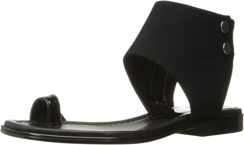 Donald J Pliner Womens Lorel Toe Ring Sandal