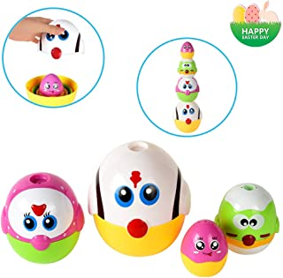 Toddler Easter Basket Stuffers with Melodies Baby Music Toy Easter Gift for 12M