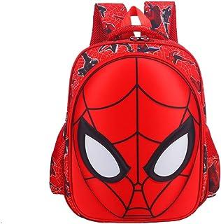 Mochila infantil de dibujos animados, para niños de 1 a 3 años de edad, de 6 a 12 años, diseño de Spiderman, bolsa de clase preescolar