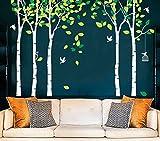 white tree decals - Amaonm 104
