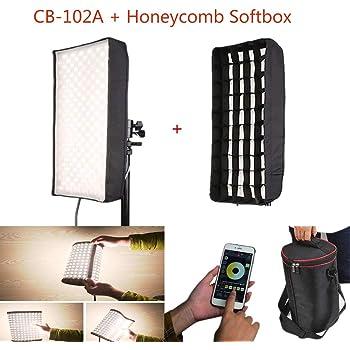 Menik CB-68A Honeycomb Grid Softbox for Menik CB-68A//CB-68 Led Studio Light