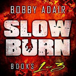 Slow Burn: Box Set 1-3 audiobook cover art