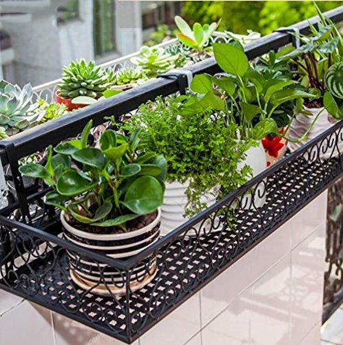 Emsa jardinière-Support Vario Anthracite Support pour Jardinière de Balcon pflanzkasten