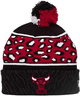 detailing 29ff6 5c504 New Era Chicago Bulls Nba Winter Beanie Red 0