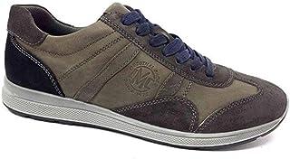 Imac Scarpe Uomo Sneaker camoscio Grigio 81690-2408/009