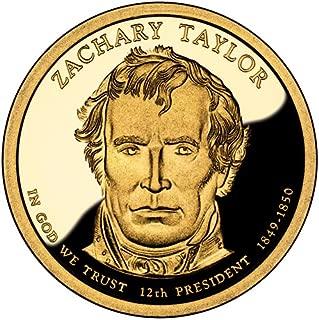 2009 S Zachary Taylor Presidential Dollar Proof GEM BU++