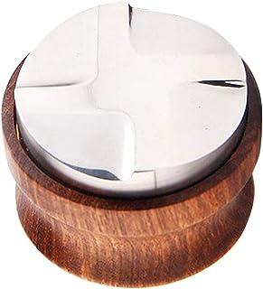 MagiDeal 51mm/53mm Café Distributeur, Espresso Distribution Outil, Café Niveleur, Espresso Professionnel Distributeur Outi...