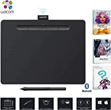 Wacom CTL6100WLK0 Intuos Creative Pen Tablet Bluetooth - Medium, Black - (Renewed)