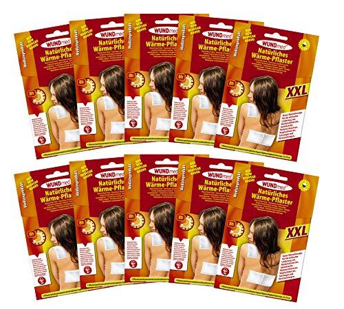 10er Set Wärmepflaster Schmerzpflaster 19x13 cm xxl Wundmed 8h Rücken Pflaster Wärmepad Nacken Wärmekissen Wärme Wärmepad verspannung muskelschmerzen