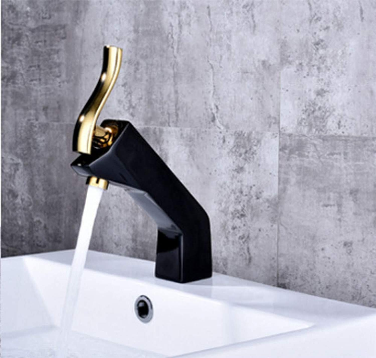 Basin Faucets Modern Bathroom Mixer Tap Brass Washbasin Faucet Single Handle Single Hole Elegant Crane for Bathroom Basin Crane