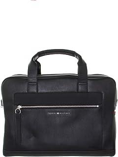Tommy Hilfiger Metro Computer Bag Briefcases, Black, AM0AM05987