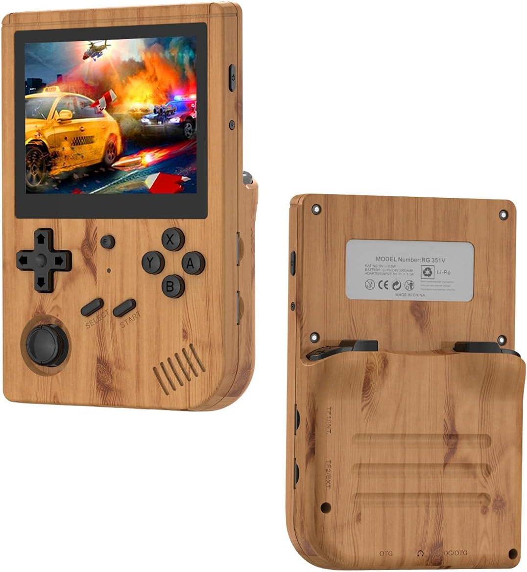 Hzemci RG351V Handheld Game supreme Console System Source Denver Mall RK3326 C Open