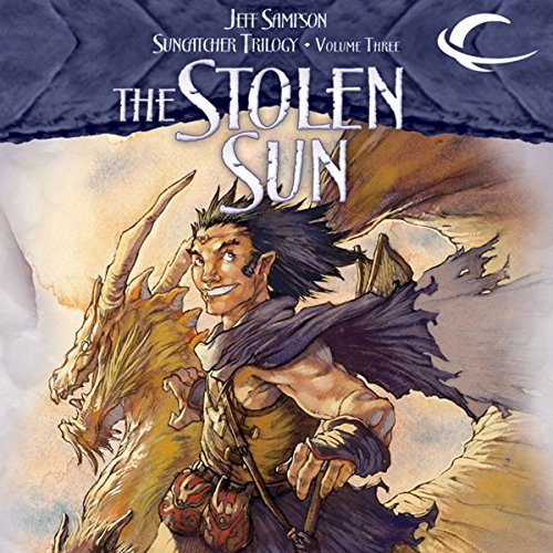 The Stolen Sun audiobook cover art