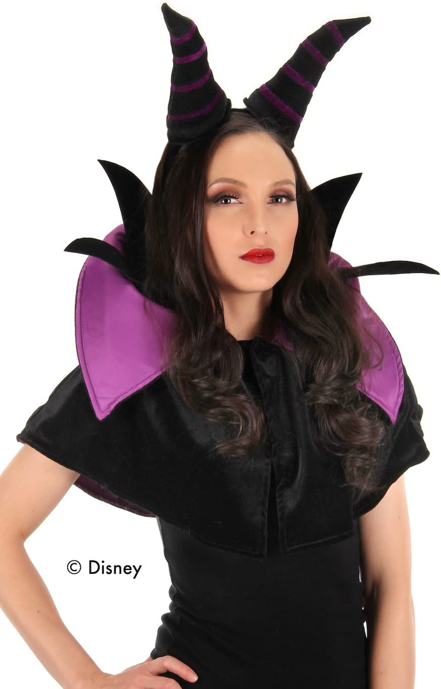 elope Disney Maleficent Year-end annual account Headband Crown Collar with and Cost Ranking TOP8 Cape