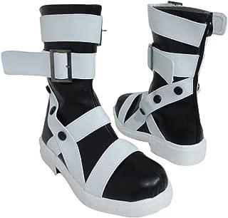 Maka Albarn Scythe-Meister White Halloween Cosplay Shoes