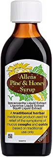 Natures Aid Allens Pine & Honey Syrup 150 ml