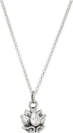 King Baby Studio - Small Lotus Pendant Necklace