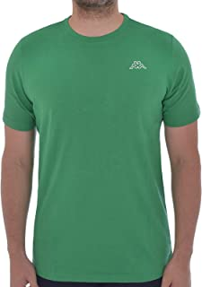 Kappa Mens Basic Cafers Crew Neck Casual Cotton T-Shirt Tee Top