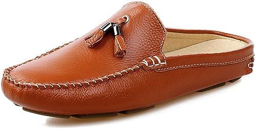 schuheDQ Freizeitschuhe Fransen Erbsen Schuhe Atmungsaktive Herrenschuhe