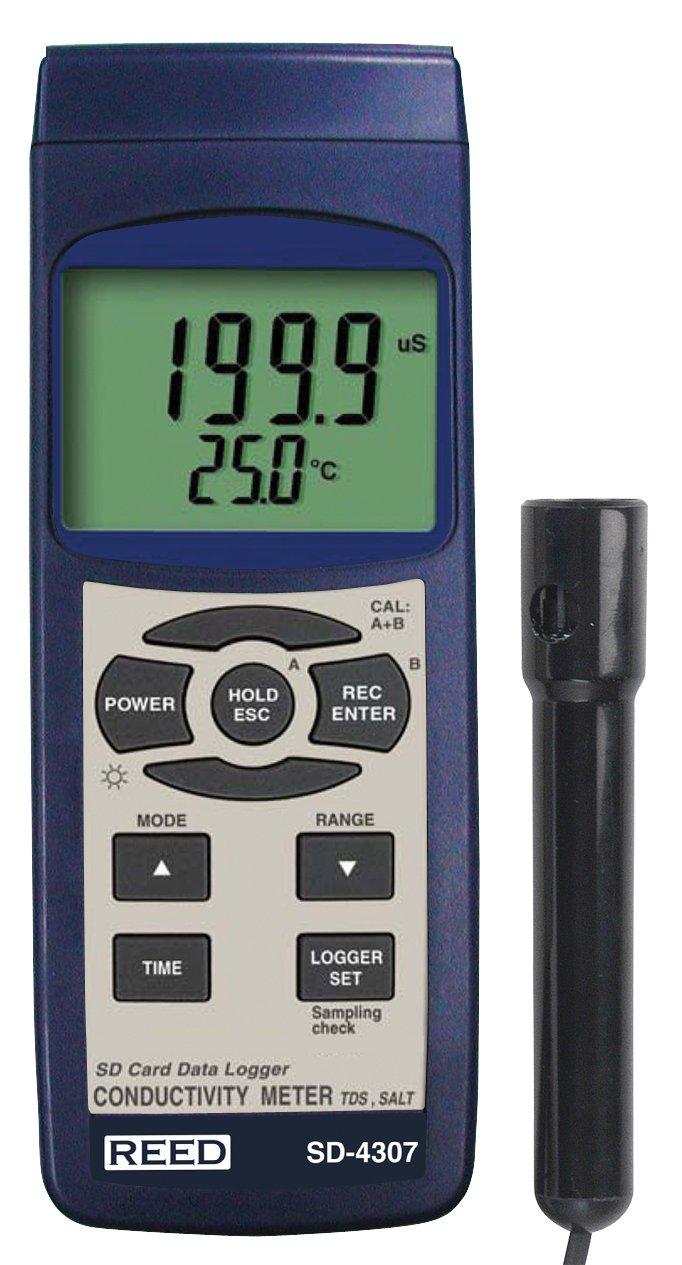 REED Instruments SD-4307 SD Series Conductivity/TDS/Salinity Datalogger