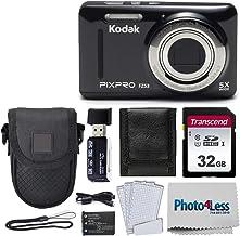 Kodak PIXPRO FZ53 16.15MP Digital Camera (Black) + Black...