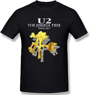 Men U2 Joshua Tree Suitable T-Shirt Black
