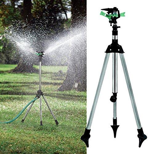 Treppiede Impulse sprinkler Pulsating telescopico irrigazione prato cortile e giardino