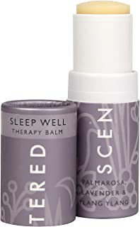 Scentered Sleep Well Aromatherapy Balm Stick - Sleep Aid for Restful Sleep & Bedtime Relaxation - Lavender, Chamomile & Yl...