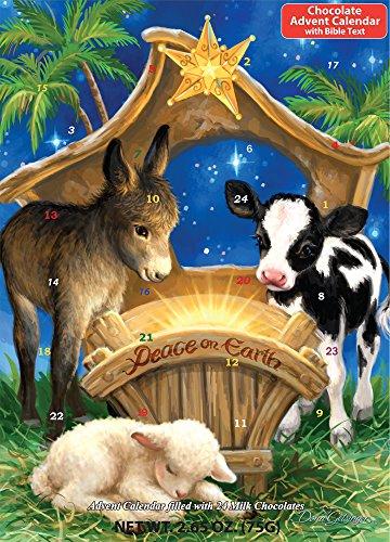 Peace on Earth Chocolate Advent Calendar (Countdown to Christmas)
