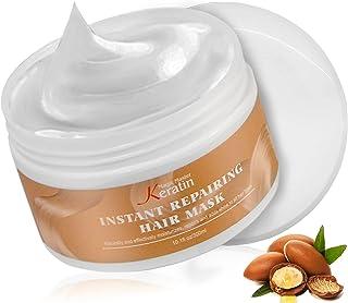 Hydrating Argan Oil Hair Mask, Magic Master Keratin Deep Conditioner Hair Treatment Masks for Dry Damaged Hair, Color Trea...