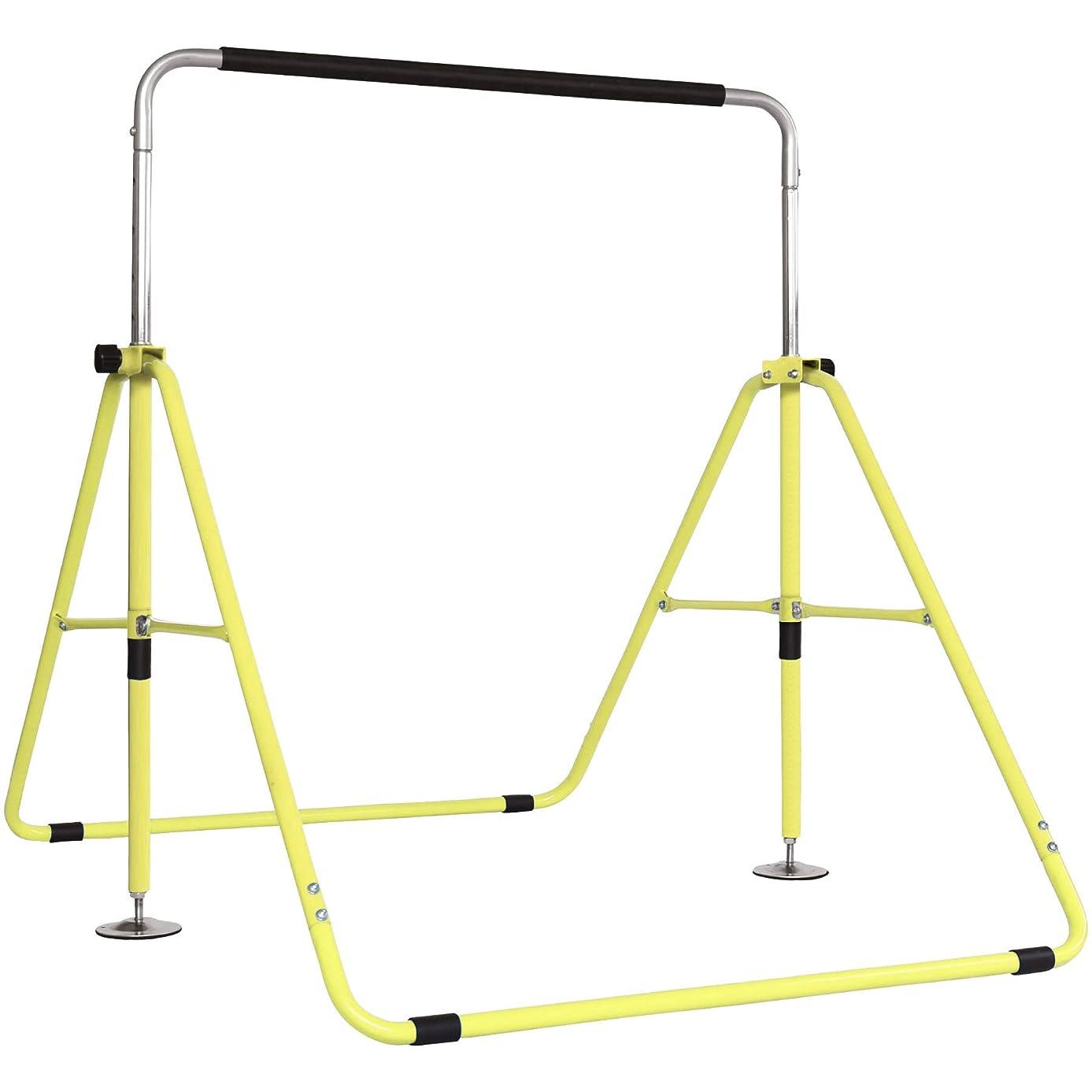 子供達助けて青YouTen(ユーテン) 鉄棒 子供用 てつぼう さか上がり キッズ 室内 折り畳み 高さ 調整 可能