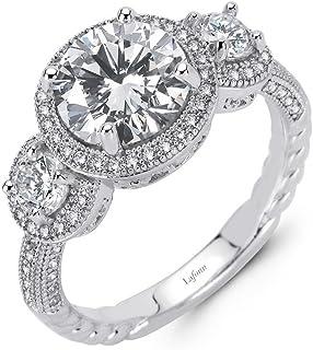 Fine Jewelry Engagement & Wedding Wedding Leaf Art 2 Carat Round Diamond Engagement Ring 14k White Gold All Size Elegant And Sturdy Package